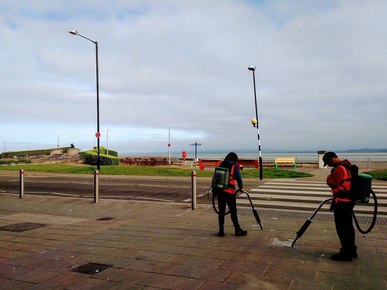 Morecambe spring clean