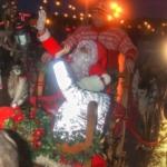 Morecambe Santa reindeer