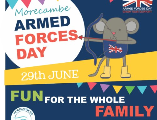 Twin town trails for Armed Forces Day.